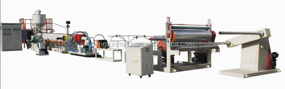 PE foam sheet extruder machine for packing material
