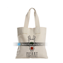 New product for 2017 100% recycled cotton tote bags, pu canvas bag