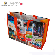China Yiwu hot wholesale pp woven shopping bag big travel eco friendly bag