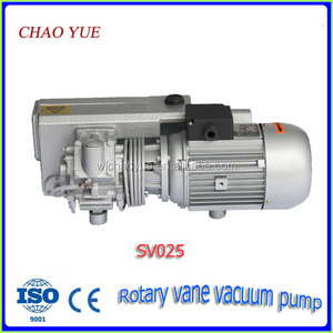 SV025 rotary vane vacuum pump vacuum pump for oil change