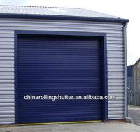 electric commercial door/steel garage door parts/rolling up door