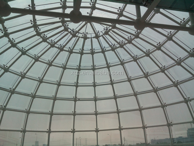 Low Cost Modern Steel Space Truss Frame Geodesic Dome