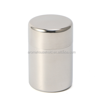 Small Coffee Storage Container Airtight Beans or Ground Canister