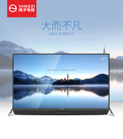 Ultra slim largest size UHD 4K smart flat LED LCD TV factory