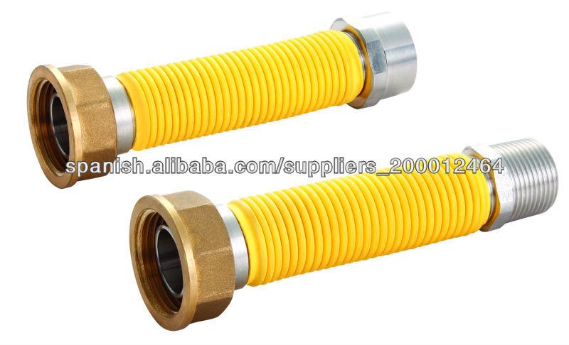 1 2 flexible de metal de acero inoxidable de gas tubo de - Tubos para chimeneas de acero inoxidable ...
