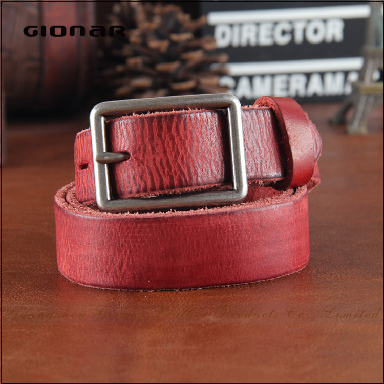 Hot Selling Travel Needlepoint Genuine Leather Weightlifting Belt