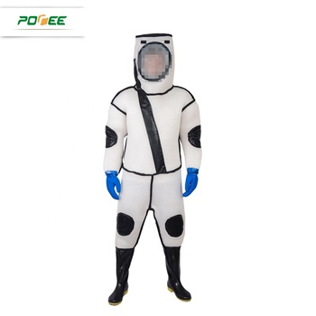 3D Breathable white bee protective clothing keeping suits for beekeeper