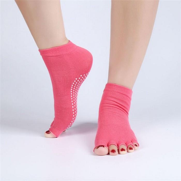 Gimnasio Profesional yoga antideslizante calcetines para hombres y ...