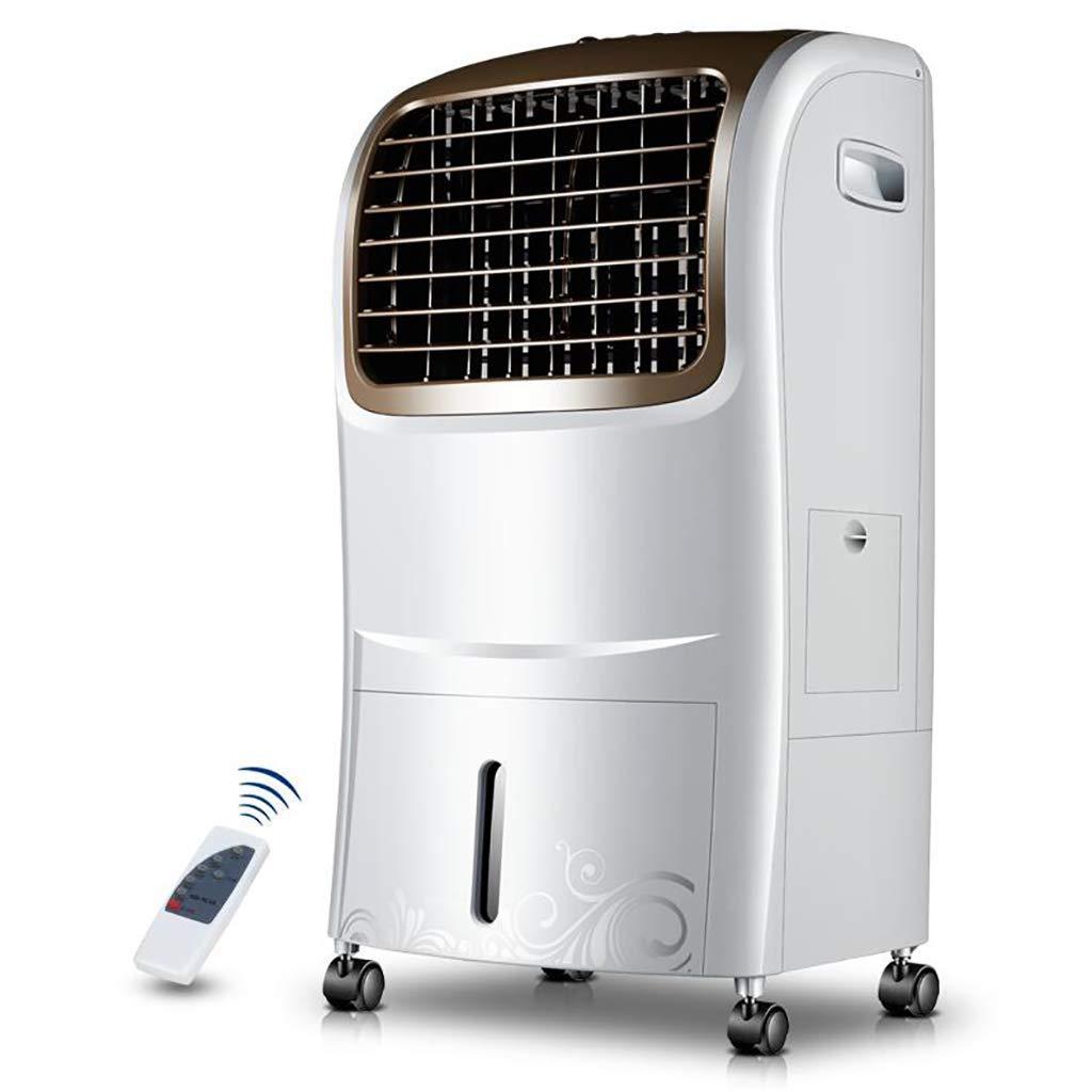 JYKJ Air Conditioning Fan Remote Control Timing Fan Remote Control Timing Mobile Air Conditioning Household Cooling Fan Single Cooling Fan Air Conditioning Water Cooling Fan
