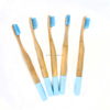 New bamboo charcoal fiber bristles adult toothbrush with dental floss