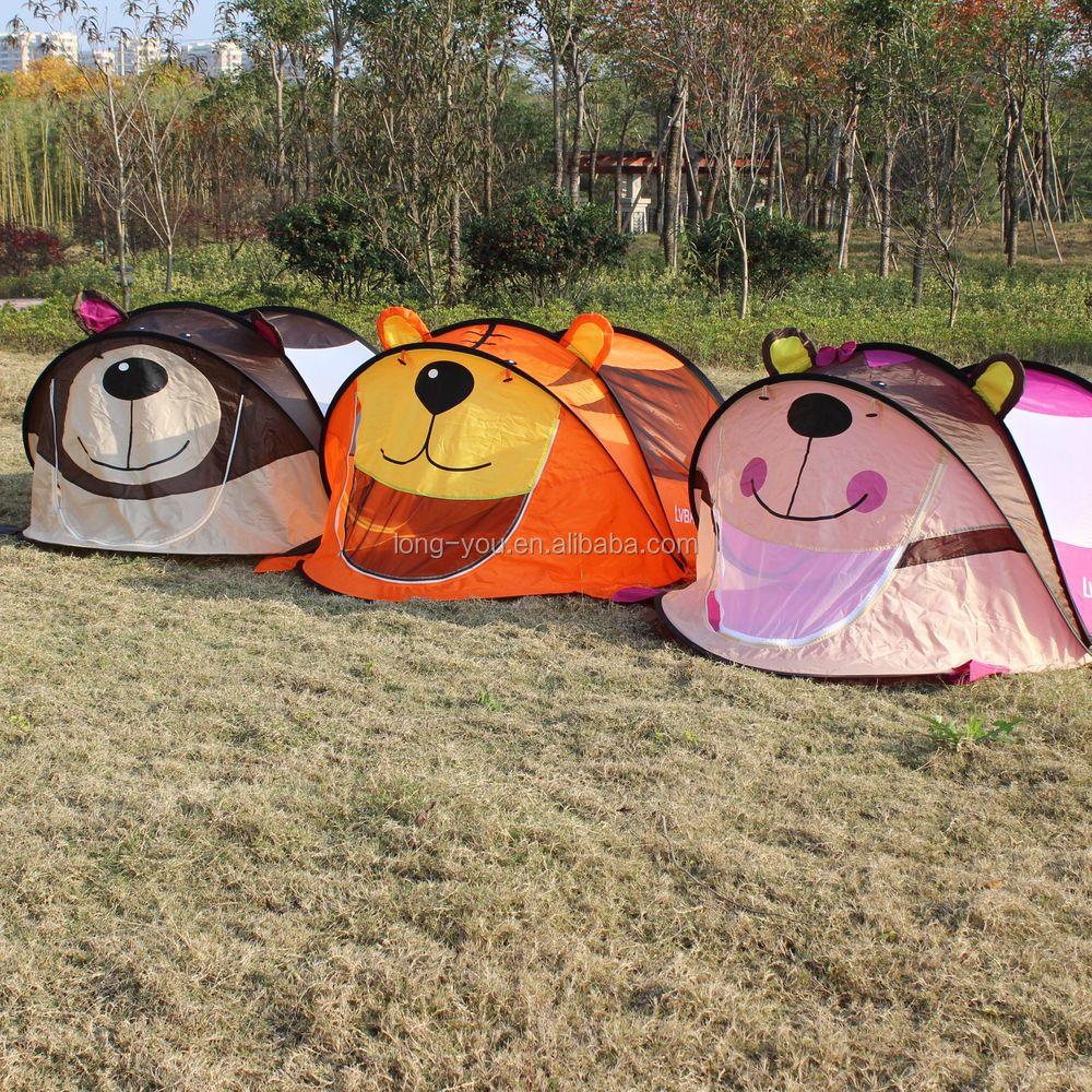 Aioiai Cute Pink Puppy Kids Indoor Outdoor Play Tent Children Pop Up Camping Tent Buy Pop Up Tent Animal Pop Up Tent Puppy Pop Up Tent Product On