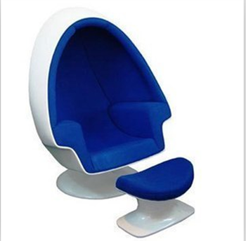 Charmant Egg Pod Speaker Lee West Stereo Alpha Egg Chair With Ottoman