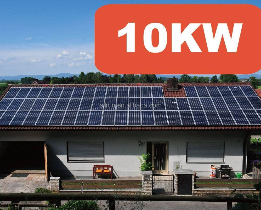 Hot! HOGE EFFICIENCY OFF GRID 10kw zonnepaneel systeem