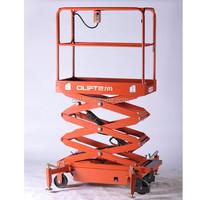 hydraulic fork lifter mini electric scissor lift platform portable lifter
