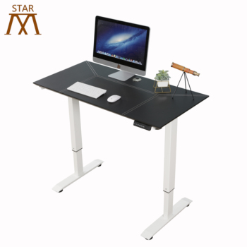 Electric Adjustable Height Computer Desk Metal Table With Stand Up Desk Adjustable Height Legs
