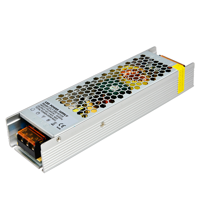 IP20 200W 5V 40A S-200-5 Metal Industrial power supply with switch