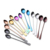 High quality 304 food grade color intrigue spoon stainless steel custom logo