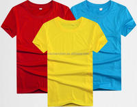 T-shirts for wholesale custom polyester 0.5usd promotional apparel