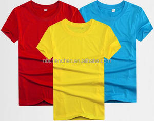 T-shirts for wholesale custom polyester promotional apparel