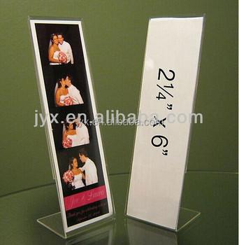 Acrylic 2 X 6 Photo Booth Strip Frames Buy Acrylic 2 X 6 Photo