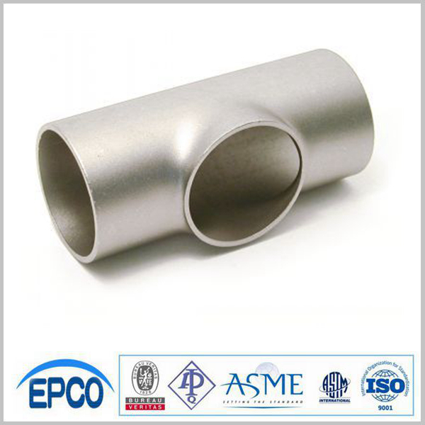 schedule 40 stainless steel pipe joint connector tee