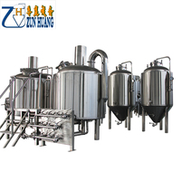 3000L large scale malt brewery equipment brew kettle beer production machinery line for beer plant