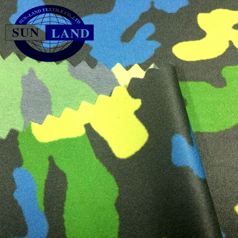 Kid garment 잠 옷 pajama 옷 custom 만화 print 100% polyester weft knitted terry fabric