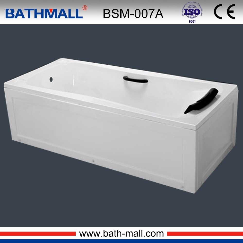 Double Apron Bathtub, Double Apron Bathtub Suppliers And Manufacturers At  Alibaba.com