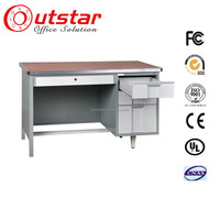 High Quality Office Writing Table Metal Desk