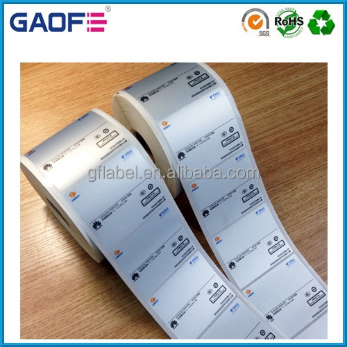 Fasson Custom Sticker adhesive labels, heat resistant sticker paper
