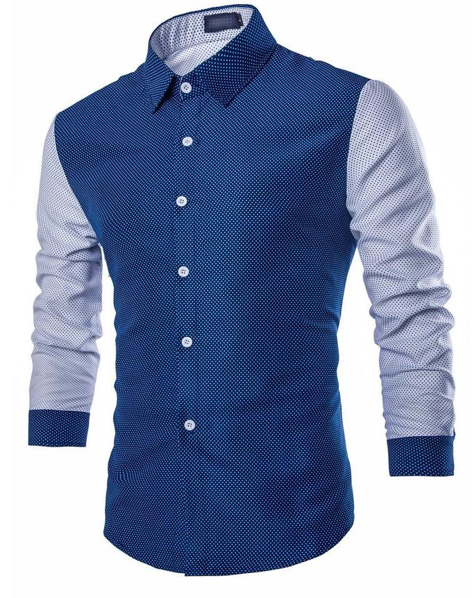 China Wholesale Clothing Custom Design Pattern Men Shirt