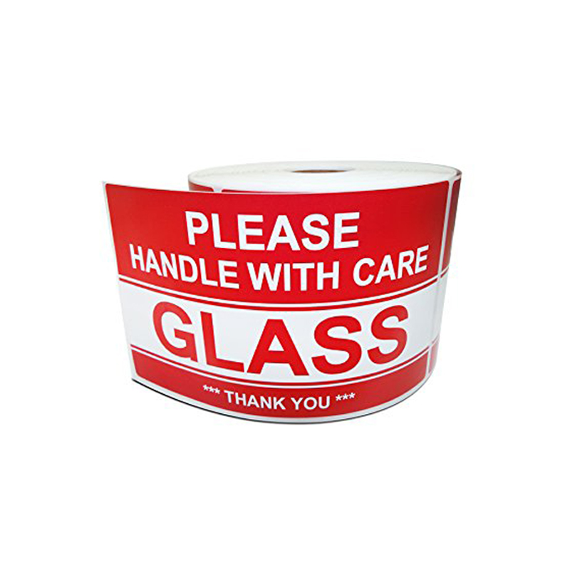 FRAGILE STICKERS Self-Adhesive Labels Please Handle with Care