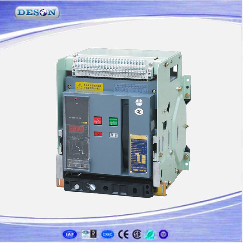 Safe Intelligent Air Circuit Breaker 2500A 3200A,Russia Drawer Type Air Circuit Breaker ACB,China Circuit Breaker Price 50/60Hz