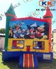 Hot selling high quality cartoon theme bouncer For kids happy school time