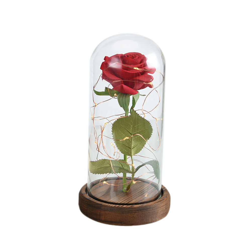 New Products 2018 Beauty Red Rose Wholesale Preserved Eternal Red