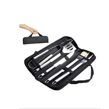Rvs 5 pc <span class=keywords><strong>BBQ</strong></span> Tool Set Pack