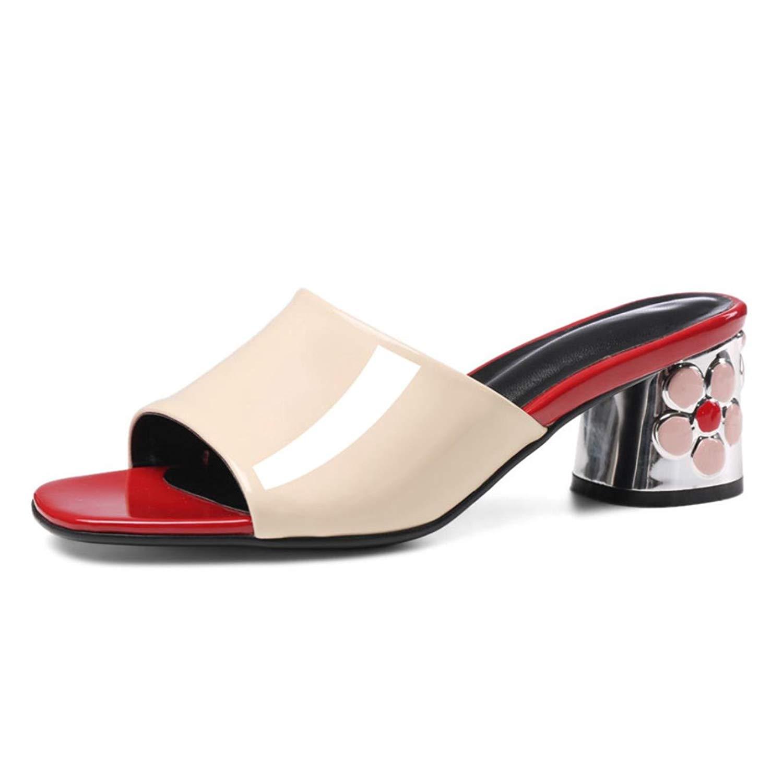 cdb2e609807df Get Quotations · Fanyuan Heel Slippers Womens Summer Outdoor Beach Slippers  Open Toe Sandals
