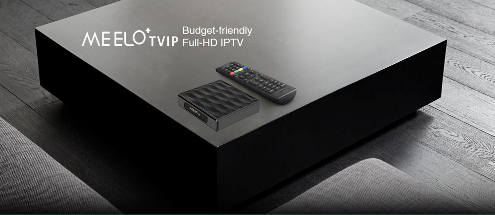 New Meelo+TVIP Amlogic S805 Quad Core Arabic iptv French Indian USA UK Italain channels Linux tv box