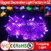 10m 100leds IP44~65outdoor christmas street light decoration christams village led lights 110V/220V led chasing christmas lights