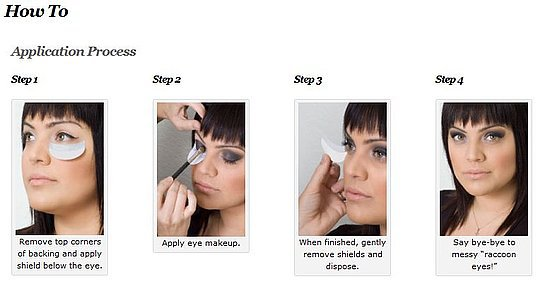 Be Fearless Disposable Shadow Shields Eye Make Up Protector(direct ...