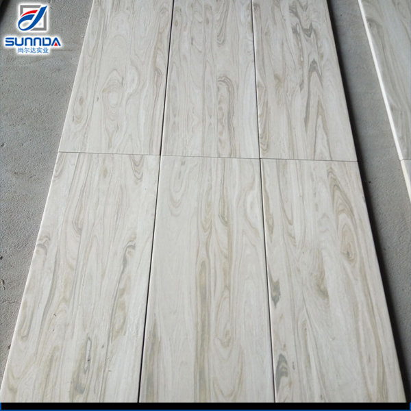 200x1000mm Light Color Wood Look Ceramic Porcelain Wall And Floor Decorative Round Edge High Quality Tiles With Printing