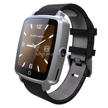 Market new U11c smart watch mobile phone with sim card Bluetooth touchscreen, waterproof watch mobile phone with wifi