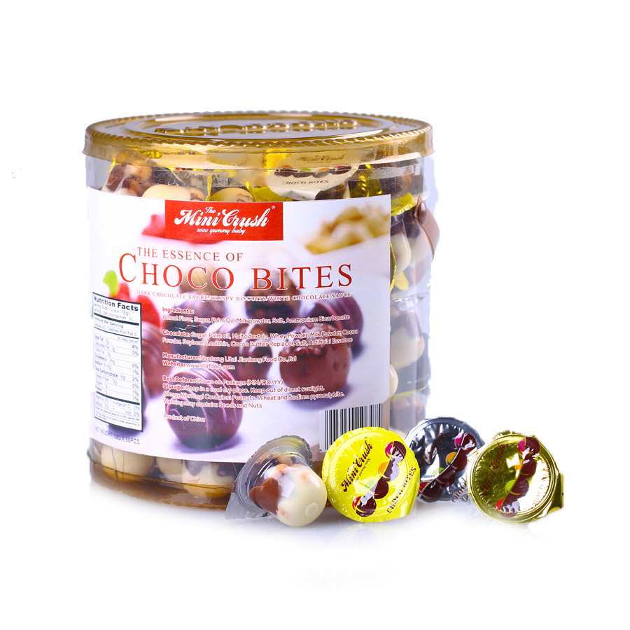 Industrial ware confectionery pre-packaged