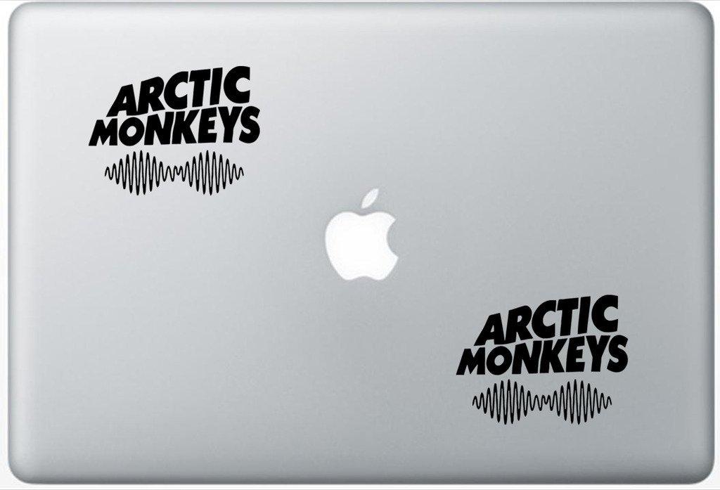 Arctic Monkeys FlashDecals0821 Set Of Two (2x) , Decal , Sticker , Laptop , Ipad , Car , Truck