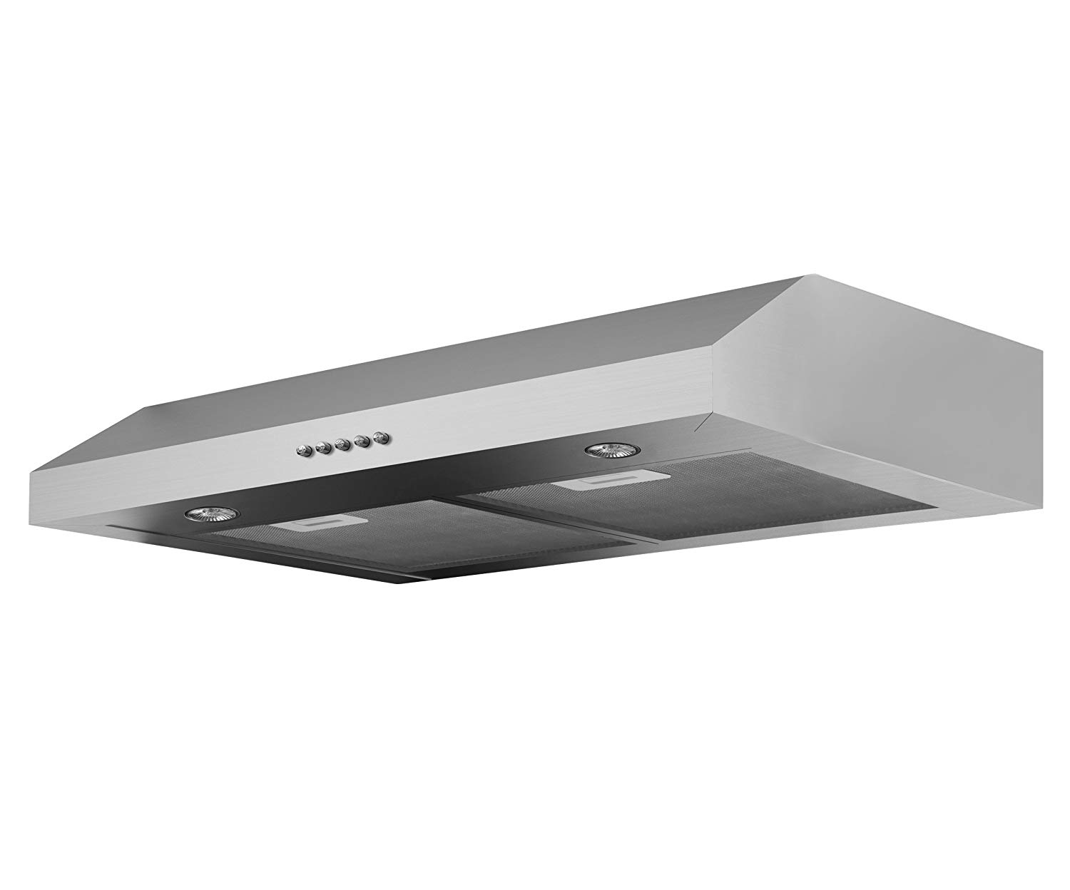 Get Quotations Ancona Slim Ii 280 Cfm Under Cabinet Range Hood 30 Inch
