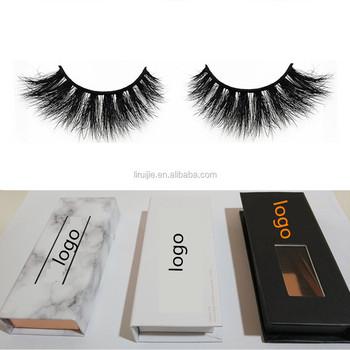 94384a02c47 100% Siberian 3D Mink Fur False Lashes HandMade Wispy Natural Thick  Reusable Mink Fake Eyelashes