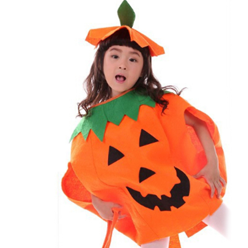 get quotations halloween party costume dress lint pumpkin cloth children and adult pumpkin suit costume high quality