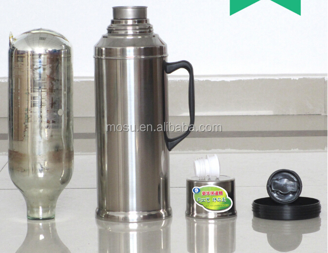 Stainless Steel Outer Glass Liner Water Bottle Glass Lined