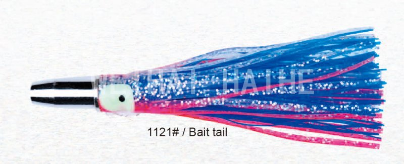 "Double skirt 6"" Game Trolling Saltwater FISHING LURE"