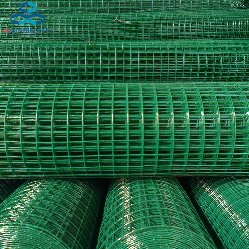 High quality 1 inch 2x2 galvanized & pvc coated welded wire mesh
